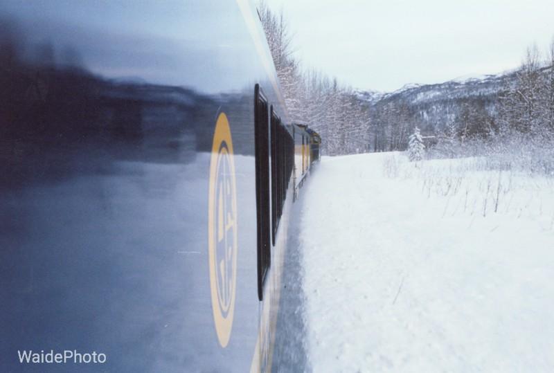Anchorage to Fairbanks, Alaska 1997.