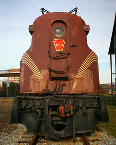 Pennsylvania Railroad GG-1 (PRR 4913) at the Altoona Railroad Museum