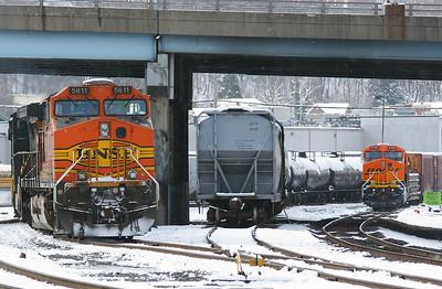BNSF #5611 & #6200