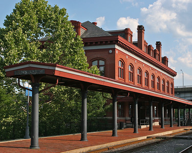 Western Maryland Scenic Railroad Station in Cumberland, MD