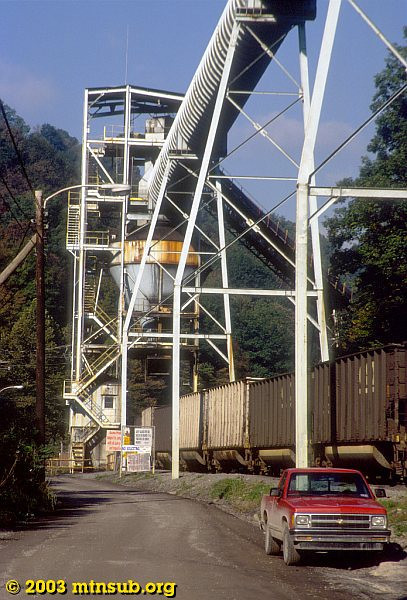 Loading at the Brooks Run mine, WV. 2003.