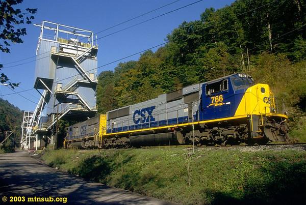 Loading at the Brooks Run mine, WV. 2003.