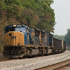 CSXT 4785 with E725 between R.E. Michaels, WV and Hancock.