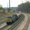 """A """"one engine wonder"""" westbound manifest with an AC60CW arrives at Mexico. April 2002."""