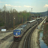 P030 leaving Cumberland at Mexico. April 2002.