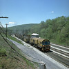 Loram rail grinder at Sand Patch, PA. 2000.