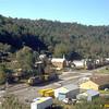 Coal drag passing through Newburg, WV. 2003.