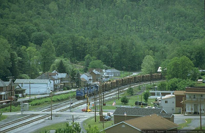 Q316 in Newburg, WV. 2000.