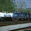 Two units set out by Q317 at Keyser, WV. 2000.