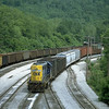 GP38-2 2661 switching in East Grafton, WV. 2000.
