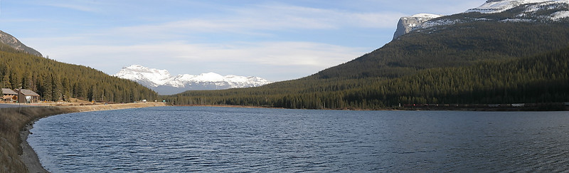 Wapta Lake pano.
