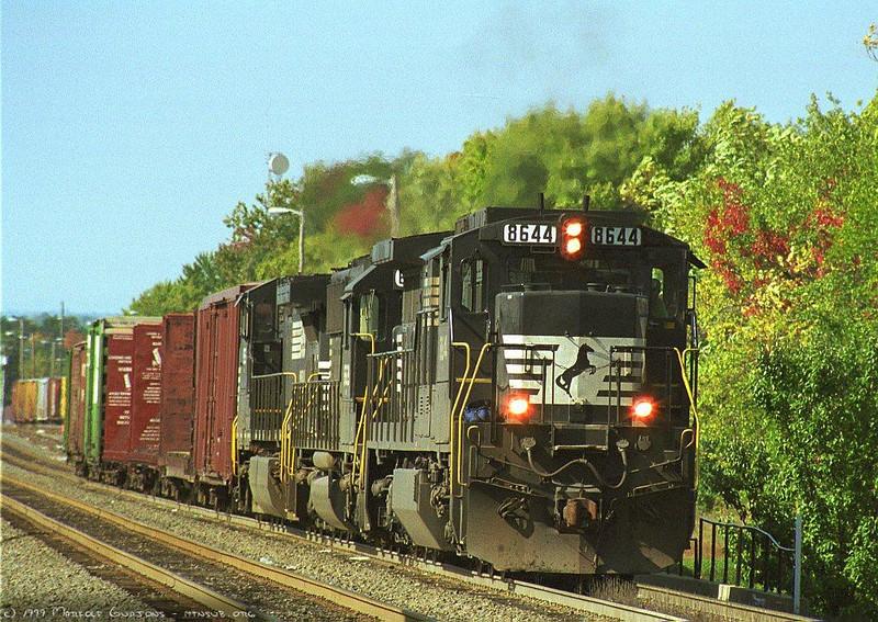 Switching at Manassas, VA. 1999.