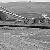 The Energy loader at the end of the Energy Industrial Track, with tipple, stockpiles, and conveyors.
