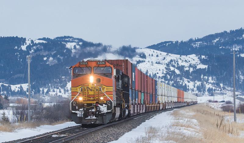 5326 on the Q-ALTPTL602 at Bozeman, MT.