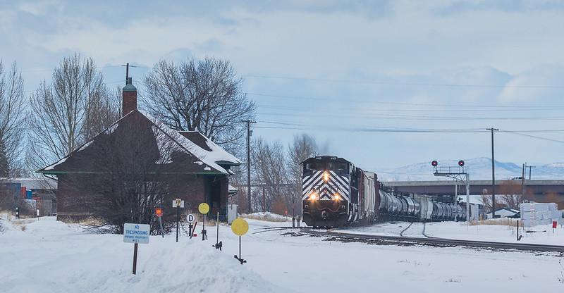 4401 on the M-MISLAU104 at Bozeman, MT.