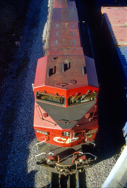 CP AC44CW 9526 from above.