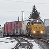 9835 switching in Idaho Falls yard.