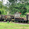 103 - 4 Plank Flatbed - Amerton Railway 16.06.13 Mick Tick