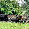 W34, W36 W37 Ammunition Wagons - Amerton Railway 16.06.13 Mick Tick