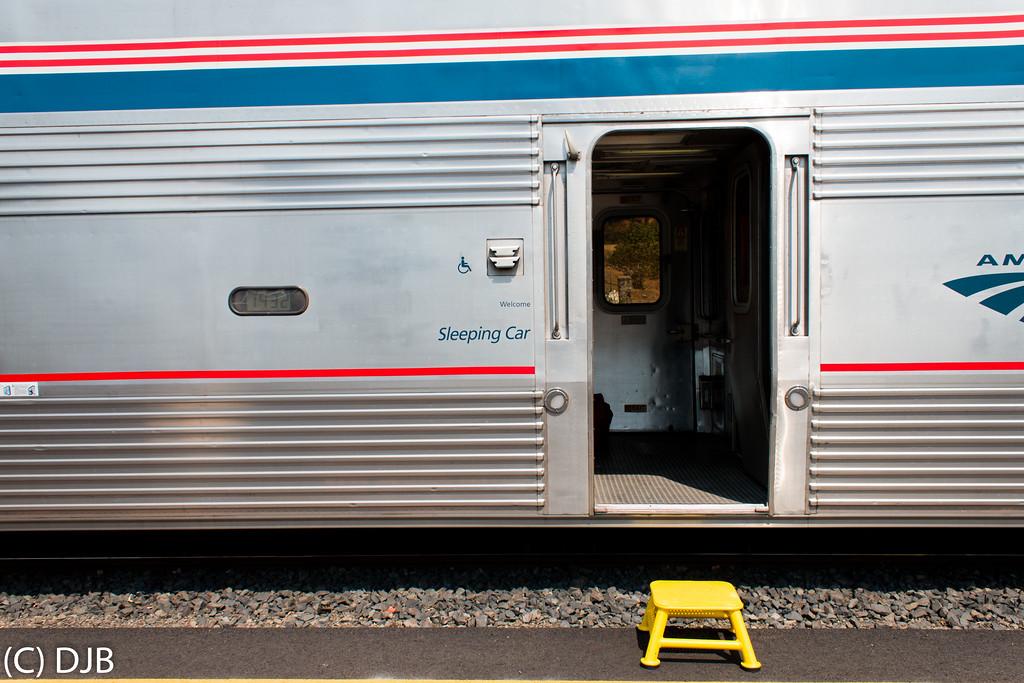 Amtrak Coast Starlight #14, Eugene, OR.