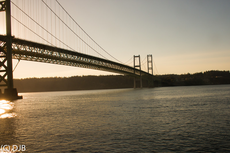 Tacoma Narrows Bridge, Tacoma, WA.