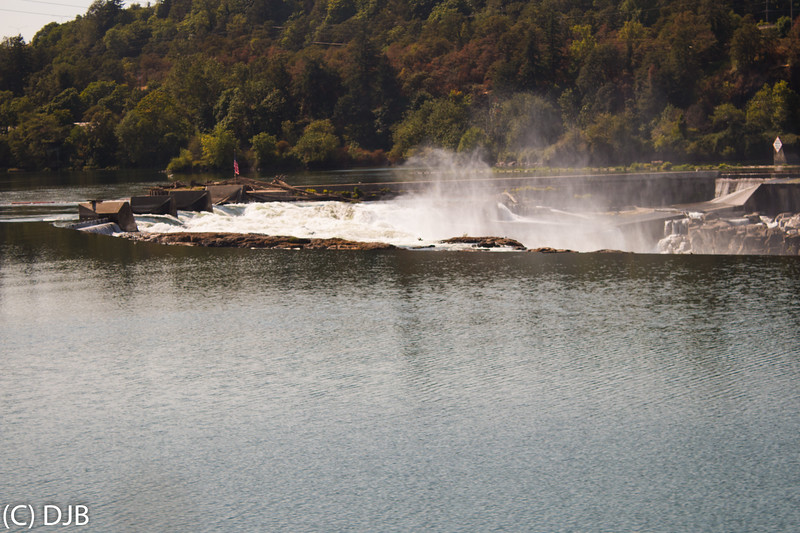 Willamette Falls, Oregon City, OR.