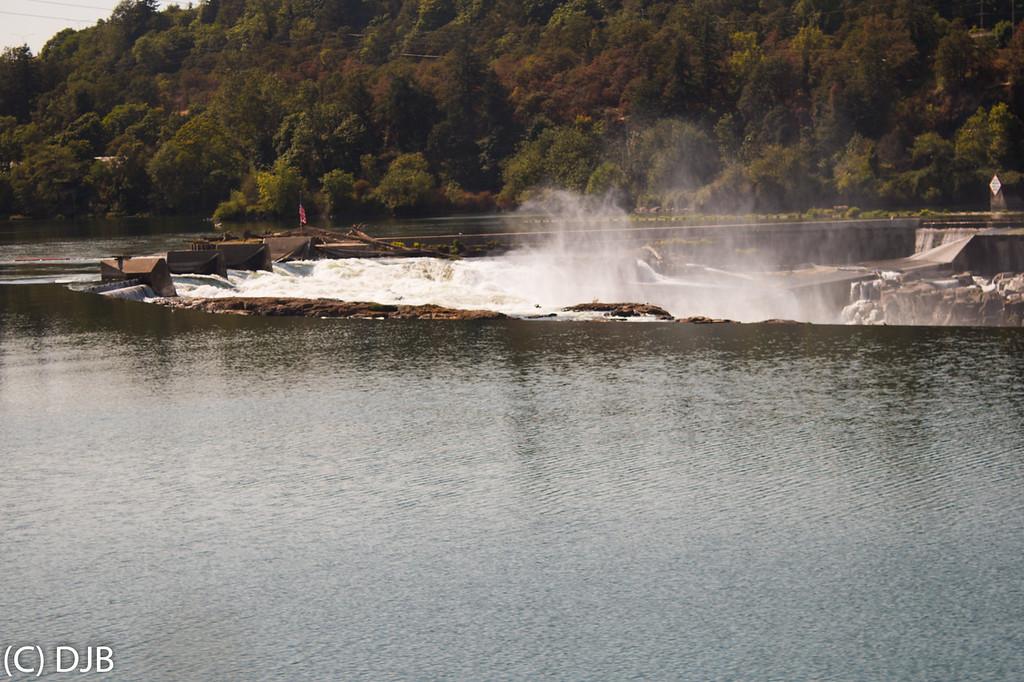 Willamette Falls, Oregon City, OR.