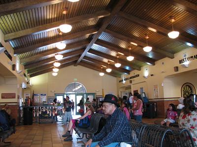 Inside Albuquerque Santa Fe depot