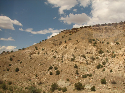 Hillside in northeast New Mexico