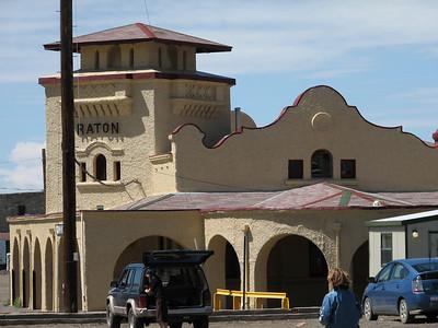 Raton, New Mexico Santa Fe depot