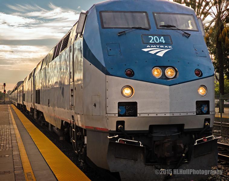 Amtrak 204...