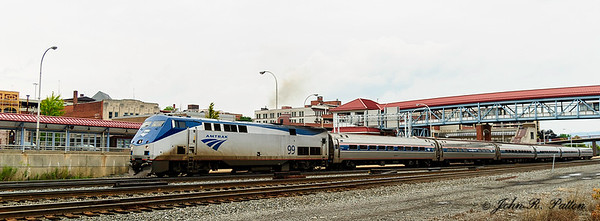 Amtrak 07T, locomotive 99, train 43