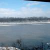 Missouri River east of Jefferson City.