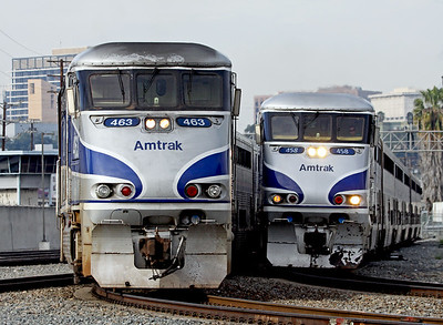 Amtrak and Commuter Trains
