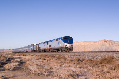 Amtrak Across Eastern UT