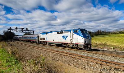 Amtrak 04T, locomotive 97, train 42