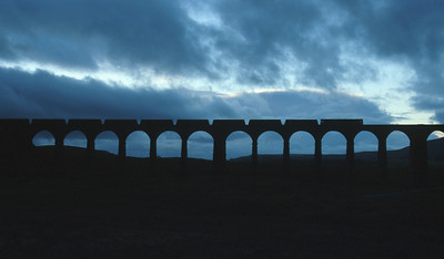 Ribblehead Viaduct sees the passage of another freight train. If the Settle & Carlisle had closed back in the eighties then today's organisation of Britain's railways would have ensured that it couldn't re-open, regardless of the need for it.