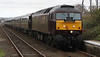 Former DRS 47237 leads Classic Royal Scotsman Tour into Dyce on 30th April 2012