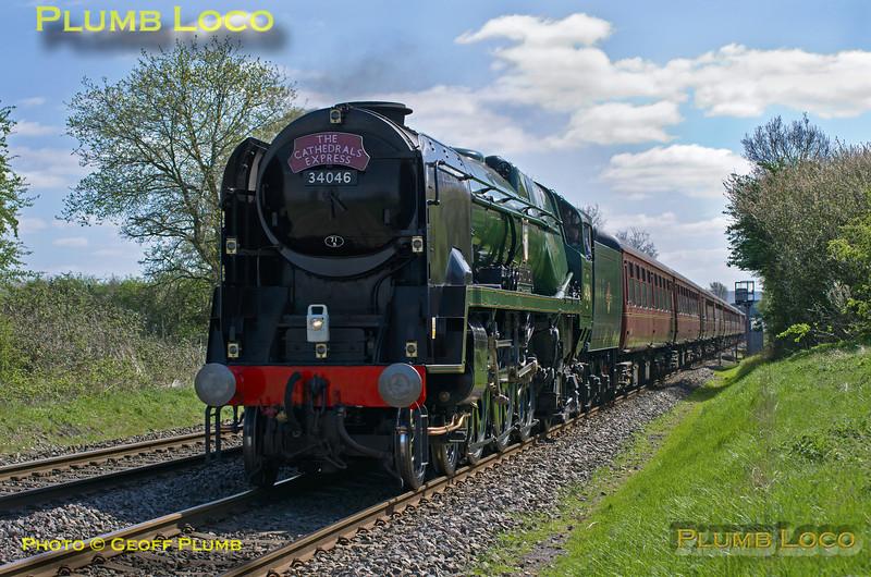 "34046 ""Braunton"", Kingsey, 1Z44, 13th April 2014"