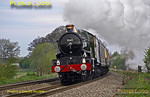 "5043 ""Earl of Mount Edgcumbe"", King's Sutton, 1Z36, 12th April 2014"
