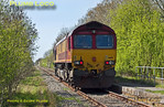 66112, Launton Halt, 0Z60, 16th April 2014