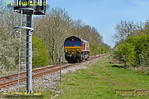 66112, Launton Crossing, 0Z60, 16th April 2014