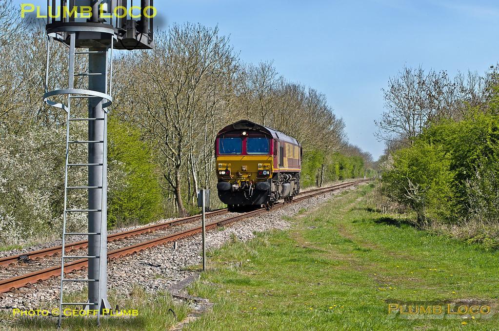 66112, Launton Crossing, 0Z60, 16th April 2014