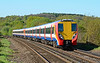SWT Juniper 458007 on service 2C24 Reading to London Waterloo, seen near Egham 27/04/2015.