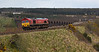 66114 with invisible Lairg empty tanks at Culloden on Monday 25th April 2016