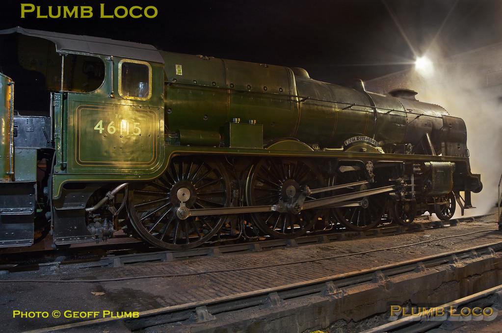 46115 'Scots Guardsman', Carnforth Depot, 22nd April 2017