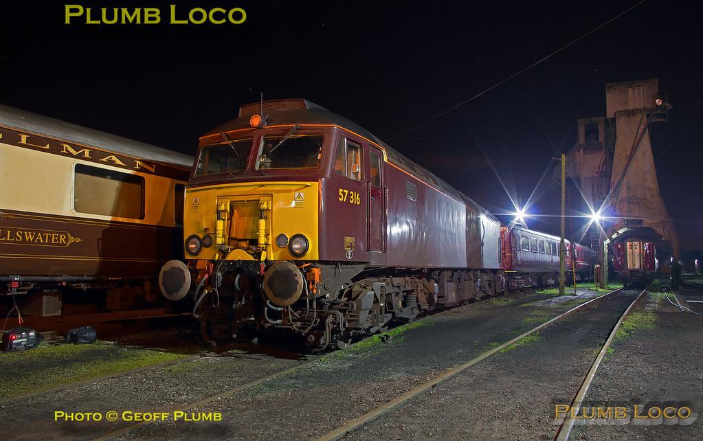 57316, Carnforth Depot, 22nd April 2017