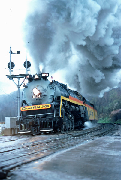 Chessie Steam Special on Sand Patch