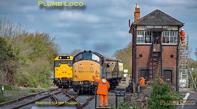 37227, Princes Risborough North Signal Box, 1P05, 6th April 2019