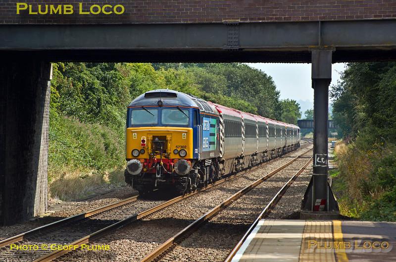 57302, Haddenham Station, 1Z07, 25th August 2013